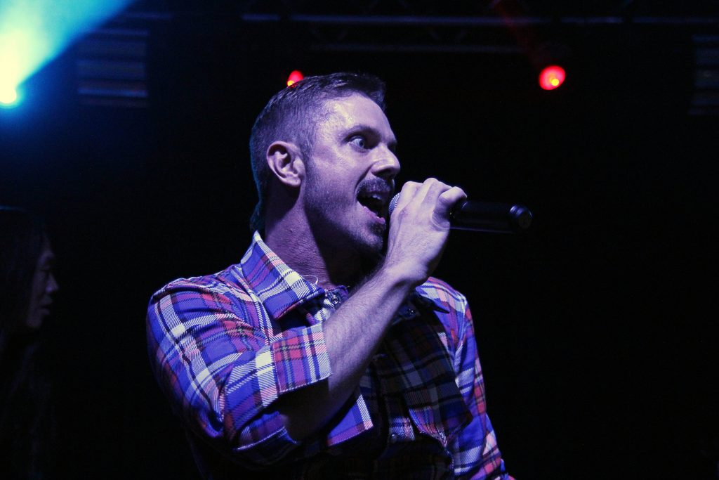 Jake Shears (Scissor Sisters) playing in Louisville, Kentucky