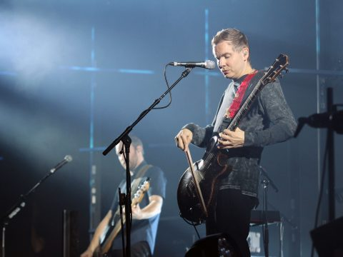 Sigur Ros performing at the Louisville Palace
